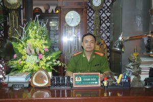 Đại tá Lê Quang Bốn, Giám đốc Trung tâm đào tạo lái xe PCCC, Bộ Công an